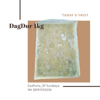 Daging durian beku frozen 1kg