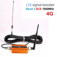 Penguat sinyal hp GSM 4G LTE 1800 mhz lcd untuk XL INDOSAT TELKOMSEL