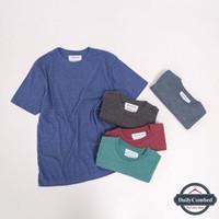 Kaos Polos Misty Twotone 30s Lengan Pendek Premium Quality