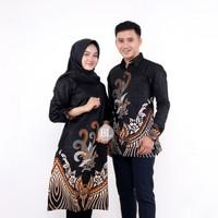 Couple batik mama papa baju sarimbit keluarga - M