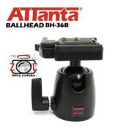 Ballhead Attanta HB-36B Ball Head Tripod Kamera Smartphone BH30 BH 36