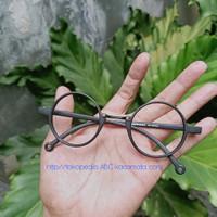 kacamata minus bulat paket frame dan lensa supersin