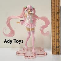 Hatsune Miku Pink Miku Sakura Action Figure