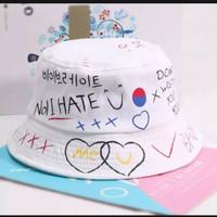 topi bucket korea untuk anak dan dewasa perempuan terbaru