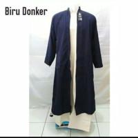 jubah terbuka/jubah gamis luaran/baju muslim anak laki2