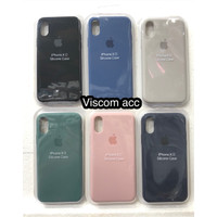 silicone case iphone x iphone xs 5.8 ori oem back cover