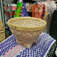 Bakul bambu nasi 28 cm