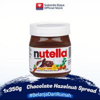 Nutella Hazelnut Spread 350 gram 350gr Nuttela Nutela Selai Coklat gr