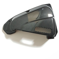 Cover Tutup Filter Udara Beat fi Vario 110 Scoopy Carbon Karbon Zoro