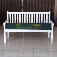 Kursi Bangku Taman Minimalis, Garden Bench, Bangku Teras Kebun Bantal