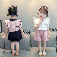SETELAN KOREA ANAK PEREMPUAN IMPORT BAJU CELANA JALAN CASUAL1-5 TAHUN