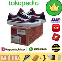 Sepatu Pria / Vans OldSkool Anaheim Black Red / Sepatu vans premium