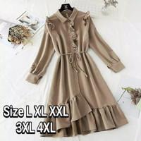 Baju atasan tunik jumbo wanita murah Mina ukuran L XL XXL XXXL 4XL