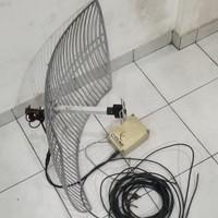 Antena Parabola internet Bekas Citilink Radio Broadcast