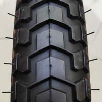 Ban Luar Sepeda Lucky Stone 18 x 2.125 Hitam/Cokelat