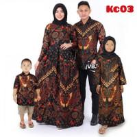 Baju Batik Keluarga kemeja ,gamis, Kemaja gamis anak Produk C006