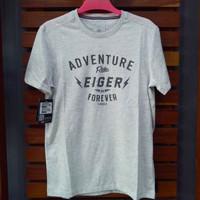 T-Shirt Kaos eiger Adventure Riding Original pria
