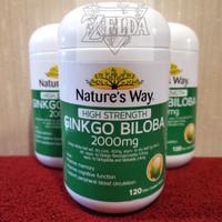 Ginkgo Biloba 2000mg Natures Way 120 kapsul