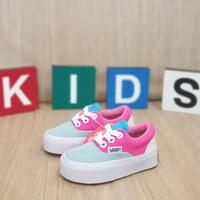 Sepatu anak casual VANS AUTHENTIC KIDS / PINK BLUE / NEW ARRIVAL/