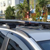 Roof rack bagasi atas+ cross bar mobil all new rush Terios plastik
