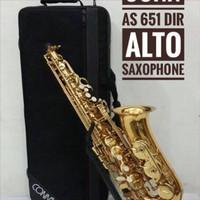 Alto Saxophone Conn AS651DIR by Conn-Selmer / free stand + reed