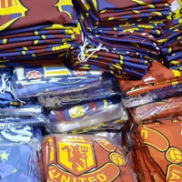 Paket 2 Sarung bantal dan 1 Sarung guling motif bola
