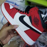 sepatu nike jordan ukuran 36 - 45 merah putih murah