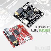 MODUL AUDIO STEREO DECODER MP3 BLUETOOTH 4.1 5.0 3.7V 5V USB RECIEVER