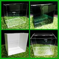 Terlaris Selfie Aquarium Akrilik Acrylic Ikan Cupang 15X10X15cm