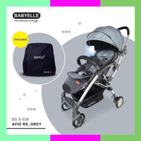 Seri Kereta Dorong Hadap Ibu Stroller Babyelle Baby Elle 939 Avio Rs