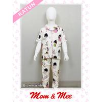 Piyama / Baju Tidur Anak Perempuan Cotton 100% Gadis Jepang PDK/PJG