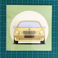 WAM's Artbox Edition 1 Sticker - Mercedes-Benz E-Class W210 (New