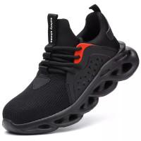 sepatu safety shoes SPORT (SSL-02) RINGAN (UJUNG BESI)