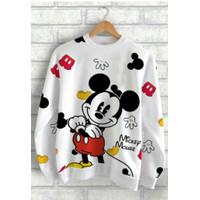 Sweater mickey   sweater cewek   mickey mouse FULL depan belakang