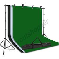 Paket stand background greenscreen backdrop bisa untuk alas zoom