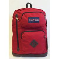 jansport austin viking red backpack tas ransel original