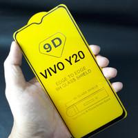 Tempered Glass VIVO Y20 Full Layar 9D Anti Gores Kaca