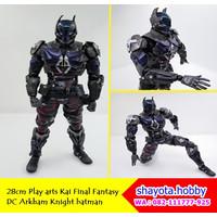 28cm Play arts Kai Final Fantasy DC Arkham Knight batman anime action
