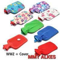 Onemed wwz + cover Bantal Kompres Air Panas Buli Buli Hot Water Bag Wa