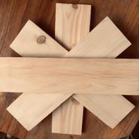 papan kayu jati belanda panjang 40 cm lebar