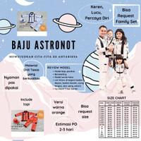 kostum profesi/kostum astronot/baju astronot/baju anak