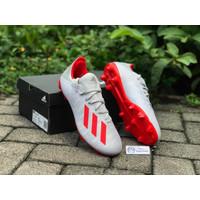 Sepatu bola Adidas X 19.3 Fg Silver red F35382 Original BNIB