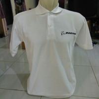 Polo shirt-Tshirt-Kaos Kerah BOEING Keren