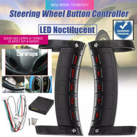 Tombol remote audio double din stir steering wheel universal wireless
