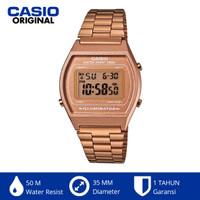 Casio Vintage B640wc-5adf B640 Jam Tangan Digital Wanita Stainless