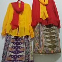 baju adat Betawi none size dewasa