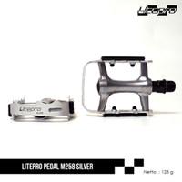 LITEPRO PEDAL M258 - SILVER