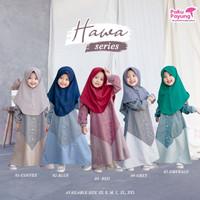 Baju Gamis Anak Perempuan Usia 1-9Tahun  Hawa Series by Paku Payung