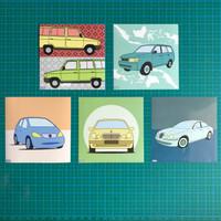Complete Set of Wheelsaroundme's Artbox Series! (WAM Sticker)
