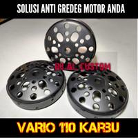 Mangkok CVT Kampas Ganda VARIO 110 Karbu Original Custom Termurah